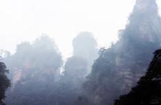 Zhangjiajie National Forest Park_ Rock Pillars