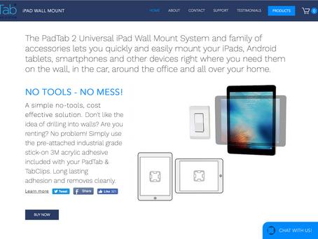 New PadTab Website!