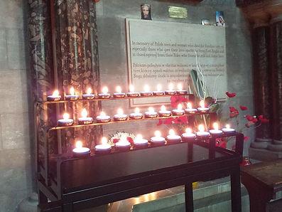 30 candles at Polish shrine 2020.jpg