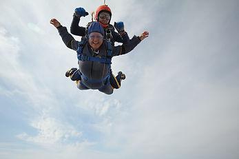 13 Iwona Paciorkowska Sky Diving for Sta