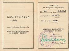 10 Josef Palik 320 Transport Co. ID & dr