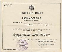 11_J¢sef_Palik_Polish_Army_demob_certifi