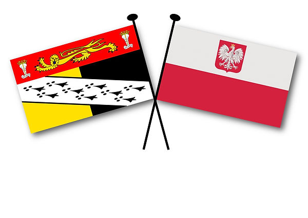 Norolk and Polish flags.jpg