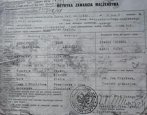 07 Franciszek and Leokadia Rozalewicz ma
