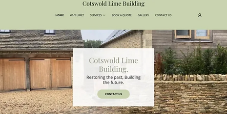 Cotswold Lime Building Homepage
