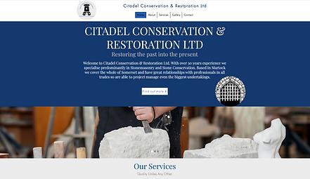 Citadel Conservation & Restoration Ltd Homepage