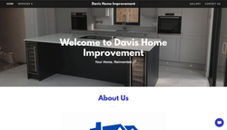 Davis Home Improvement Homepage