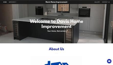 Davis Home Improvement Logo