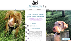 Pawsome Fun Homepage