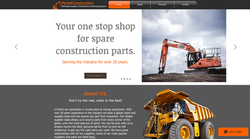 Parts 4 Construction Logo created by Gloucestershire Web Design & PC Services