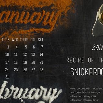 Food Type Calendar