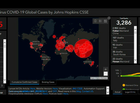 Fake Coronavirus Map Delivers Malware to Users