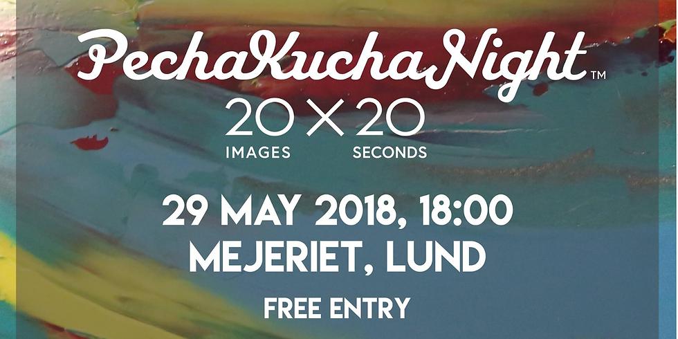 Pecha Kucha Night Lund Vol 1