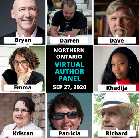 Northern Ontario Virtual Author's Panel