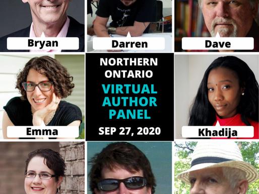 Northern Ontario Virtual Author's Panel