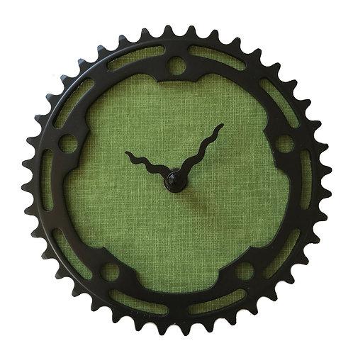 Vintage Green Bicycle Clock | Medium
