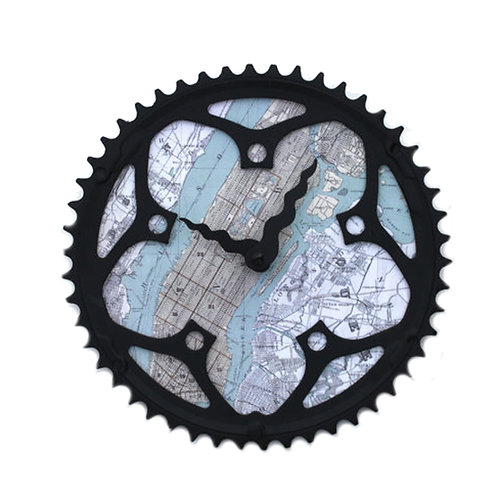 New York Bicycle Clock | Large