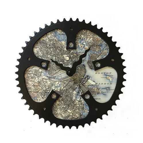 Boston Bicycle Clock | Large