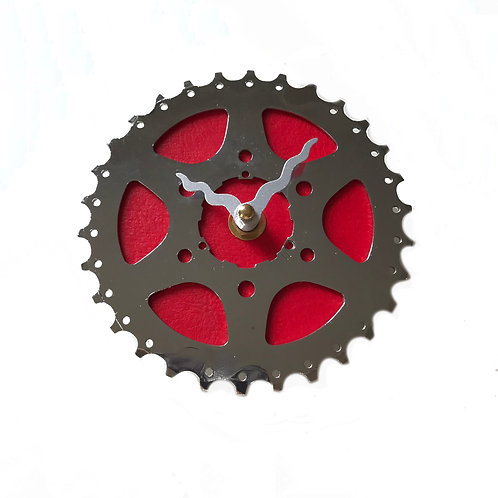 Red Bicycle Clock | Small