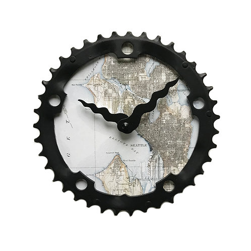 Seattle Bicycle Clock |Medium