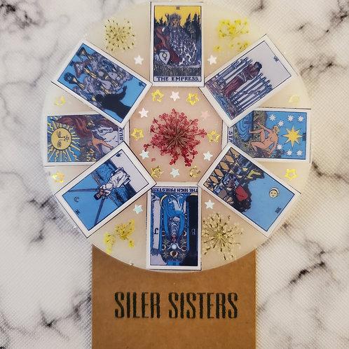 Tarot Card Coaster (Set of 2)