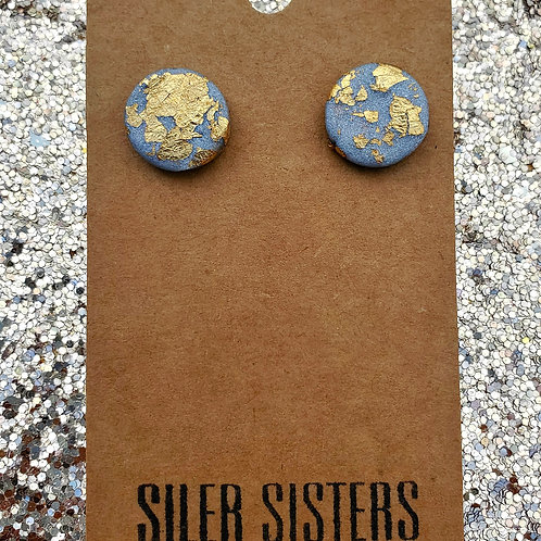 Silver & Gold Studs