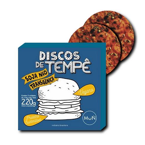 Discos de Tempê de soja temperados