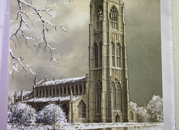 Single St Botolph's Christmas Cards (Large)