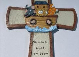 Noah's Ark Wall Cross