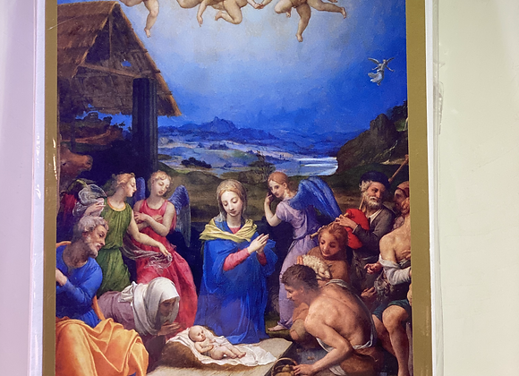Christmas Masterpieces - Adoration of the Shepherds