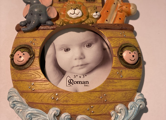 Noah's Ark Picture Frame