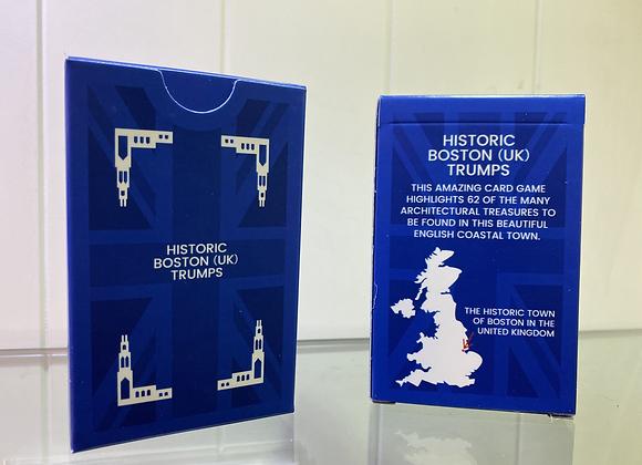 Historical Boston (UK) Top Trump Cards