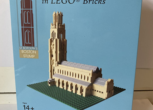 Boston Stump Lego Set- Limited Edition