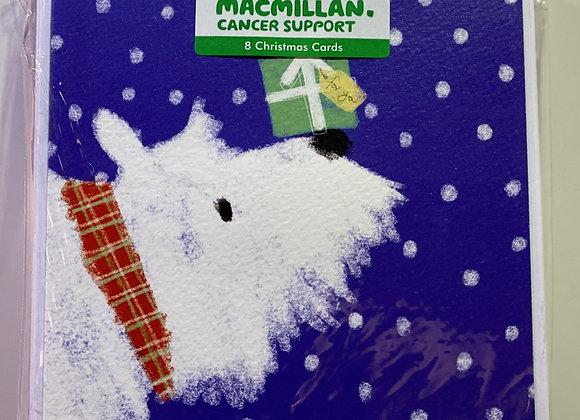 Macmillan Cancer Support - Christmas Scottie