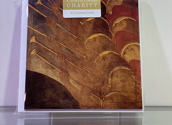 Christmas Charity - Angels with trumpets Traquair