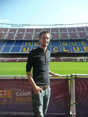 Visit to Barcelona FC Stadium