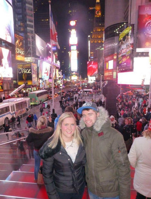 Jim and Suzanne in New York