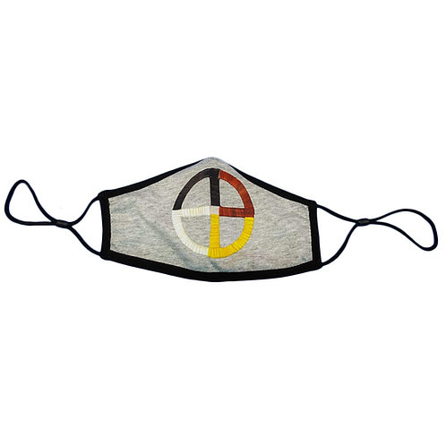 Medicine Wheel Face Mask