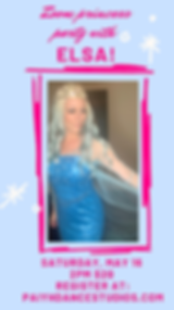 Book your princess a private zoom with E
