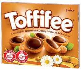 """Pesaj dulce y divertido con caramelos """"Toffifee"""""""