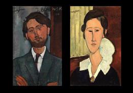 Museo de Arte de Tel Aviv - exposición especial Amadeo Modigliani, entre amigos.