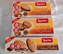 .Nuevas galletitas Loacker Premium ahora en Israel