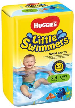 Solución perfecta para su Bebé en el verano: Little Swimmers de Huggies