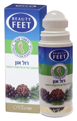 ¡Hlavin lanza Roll-On para el tratamiento de pies agrietados y secos!