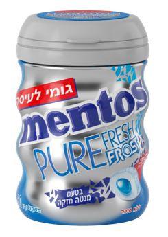 """Nuevo """"Mentos Pure Fresh Frost"""" con un sabor a menta  fuerte y refrescante"""