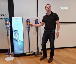 Primera aspiradora con inteligencia Laser incorporada DYSON V15