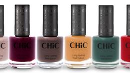 CHIC lanza nuevos colores de esmaltesy quitaesmaltes con aromas