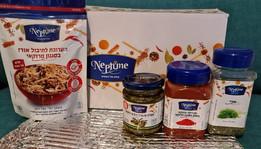 """Para Rosh Hashaná """"Neptune""""  ofrece increible variedad de especias +Receta"""