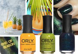 ORLY presenta 3 tonos de esmalte de uñas con un toque para la próxima temporada!