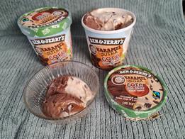 "Novedad de ""Ben & Jerry's"" helado CORE vegano sin gluten - ""Vegan Caramel Sutra"""